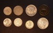 London Coins : A130 : Lot 2420 : USA (8) Quarter Dollars (2) 1914, 1923, 10 Cents (3) 1890, 1917S, 1943, 5 Cents ...