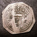 London Coins : A131 : Lot 1006 : Shilling Charles I Pontefract S.3150 (in the name of Charles II) Fine with some weaker areas, Ex...