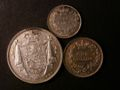 London Coins : A131 : Lot 1426 : Halfcrown 1831 Plain edge Proof, WW in script ESC 658, Shilling 1831 Plain edge Proof ESC 12...