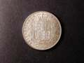 London Coins : A131 : Lot 1446 : Halfcrown 1875 ESC 696 EF with a couple of digs in the obverse field