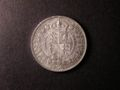 London Coins : A131 : Lot 1462 : Halfcrown 1891 ESC 724 UNC or near so with some contact marks on the obverse