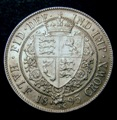 London Coins : A131 : Lot 1465 : Halfcrown 1895 Davies 667 dies 2B A/UNC