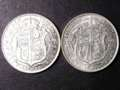 London Coins : A131 : Lot 1517 : Halfcrowns (2) 1911 ESC 757, 1917 ESC 764 Lustrous GEF-A/UNC