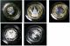 London Coins : A135 : Lot 2508 : Five Pound Crown 2006 Queen Elizabeth II 80th Birthday Silver Proof Piedfort, Five Pound Crown 2...