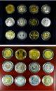 London Coins : A135 : Lot 2653 : The Millionaires Collection a 36-coin set of modern replicas of a variety of rare coins of Britain&#...