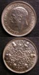 London Coins : A140 : Lot 2225 : Shilling 1927 Second Reverse Proof ESC 1440 About FDC, Sixpence 1927 Second Reverse Proof ESC 18...