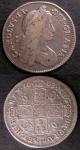London Coins : A140 : Lot 2227 : Shillings (2) 1663 First Bust Variety ESC 1025 Near Fine/Fine, 1668 Second Bust ESC 1030 Fine/Bo...