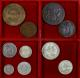 London Coins : A140 : Lot 2785 : World (10) Australia (3) Penny 1911 EF, Threepence 1912 GVF, Sixpence 1911 NVF, South Af...