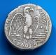 London Coins : A141 : Lot 1058 : Tetradrachm Ar. Nero. C, 54-68 AD. Syria. Selecis and Pieria. Antioch. Rev; Eagle standing o...