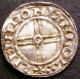 London Coins : A141 : Lot 1140 : Penny Cnut Short Cross S.1159 Lincoln Mint, moneyer LIFINC ON LINCOL NEF on a wavy flan