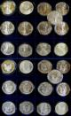 London Coins : A141 : Lot 625 : USA Silver Eagles (25) 1986 Proof, 1986, 1987, 1988, 1989, 1990, 1991, 1...