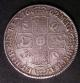 London Coins : A142 : Lot 1955 : Crown 1662 No Rose, No date on edge ESC 19 Good Fine with some light graffiti below the bust