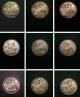 London Coins : A142 : Lot 3091 : Crowns (11) 1819LX, 1822 TERTIO, 1887, 1889, 1891, 1892, 1896 LX, 1902&#...