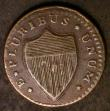 London Coins : A143 : Lot 1175 : USA New Jersey Copper 1787 NOVA CAESAREA Knobless, Straight Beam curved up at end, Rahway Mills 14 s...