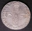 London Coins : A143 : Lot 2196 : Shilling 1697 Third Bust ESC 1102 NEF with some adjustment lines
