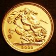 London Coins : A143 : Lot 2621 : Sovereign 2003 Bullion issue S.4430 BU
