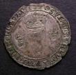London Coins : A143 : Lot 991 : Ireland Shilling Philip and Mary 1557 Z for ET S.6501C Fine on a ragged flan
