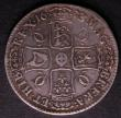 London Coins : A144 : Lot 1317 : Crown 1673 3 over 2 VICESIMO QVINTO ESC 48 About Fine/Fine