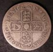 London Coins : A144 : Lot 1623 : Halfcrown 1687 ESC 498 VG