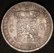 London Coins : A145 : Lot 698 : Netherlands Gulden 1821 KM#55 VF with some contact marks, scarce