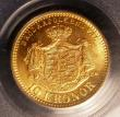 London Coins : A145 : Lot 741 : Sweden 10 Kronor 1901EB PCGS MS66