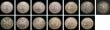 London Coins : A145 : Lot 905 : USA Dollars (13) 1879, 1880 O, 1881 O, 1884, 1885S, 1886, 1887 O, 1888, 1889, 1891 O, 1900 O, 1921 M...