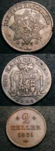 London Coins : A146 : Lot 1173 : German States - Hesse-Cassel (3) Half Thaler 1776BR KM#515 VF with an X scratched in the reverse fie...