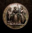 London Coins : A146 : Lot 1836 : Coronation of Caroline 1727 34mm in Silver Eimer 512 the official Coronation issue Obv. Bust Left CA...