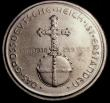 London Coins : A146 : Lot 1862 : Germany - Adolf Hitler 1938 Obverse Portrait facing right, Reverse Orb and Cross with 13.3.1938 and ...
