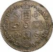 London Coins : A146 : Lot 3419 : Sixpence 1677 ESC 1516 GEF/AU with a most attractive and colourful tone