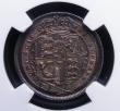 London Coins : A146 : Lot 3438 : Sixpence 1820 ESC 1638 NGC MS65