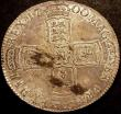 London Coins : A147 : Lot 2102 : Crown 1700 DVODECIMO ESC 97 About UNC and lustrous with a light golden tone and some haymarking