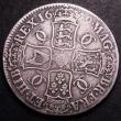London Coins : A148 : Lot 1639 : Crown 1679 Third Bust TRICESIMO PRIMO ESC 56 VG/NF