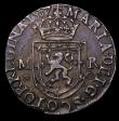 London Coins : A149 : Lot 1307 : Scotland Testoon Mary 1557 S.5404 Annulets below MR Cross Potent in each angle, (weight 5.97 grammes...