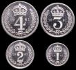 London Coins : A149 : Lot 2345 : Maundy Set 1961 ESC 2578 UNC to nFDC with practically full mint brilliance