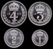 London Coins : A149 : Lot 2346 : Maundy Set 1963 ESC 2580 UNC to nFDC with full mint brilliance