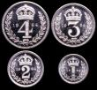 London Coins : A149 : Lot 2347 : Maundy Set 1964 ESC 2581 UNC to nFDC with full mint brilliance