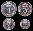 London Coins : A149 : Lot 2351 : Maundy Set 1968 ESC 2585 UNC to nFDC with full mint brilliance