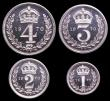 London Coins : A149 : Lot 2354 : Maundy Set 1970 ESC 2587 UNC to nFDC with full mint brilliance