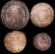 London Coins : A149 : Lot 2371 : Maundy Set Charles II Hammered issue ESC 2364 Fine to VF the Twopence with a small edge chip