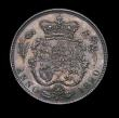 London Coins : A149 : Lot 2651 : Sixpence 1820 George IV Pattern ESC 1653 as the adopted design for 1821 nFDC with a deep tone and mu...