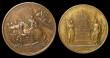 London Coins : A149 : Lot 899 : France, Napoleon I, Treaty of Campo Formio 1797, recognition of Sciences & Arts by Duvivier, bro...