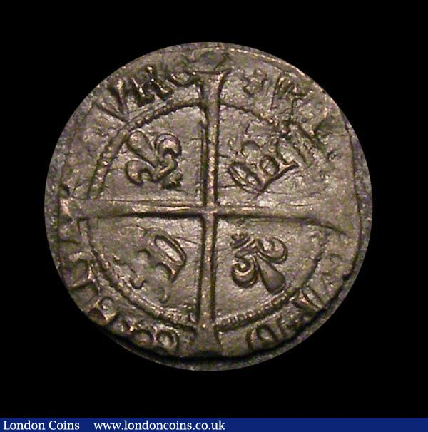 Scotland, James IV 1488-1513. billon penny 0.64gms, class IV. O, crowned facing bust. R, long cross with crown and lis in alternate quarters. S. 5362.  very fine : World Coins : Auction 150 : Lot 1201