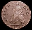 London Coins : A150 : Lot 2047 : Farthing 1672 Peck 519 VF