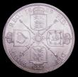 London Coins : A150 : Lot 2163 : Florin 1889 Davies 814 - dies 3+B. A most difficult to find die pairing, especially in any higher gr...