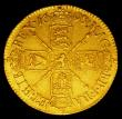 London Coins : A150 : Lot 2196 : Guinea 1698 S.3460 GVF or better with touches of underlying lustre