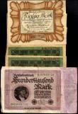 London Coins : A150 : Lot 223 : Germany 50 Mark Berlin Nov 1918 (25) including some high grade consecutive runs along with a few oth...