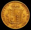London Coins : A150 : Lot 2253 : Half Sovereign 1890 No JEB on truncation  S.3869C Fine, slightly bent