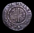 London Coins : A151 : Lot 1059 : Ireland Halfpenny John, Second Coinage S.6207 Group iia, Dublin Mint, moneyer Tomas, 0.74 grammes, G...