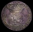 London Coins : A151 : Lot 1118 : Netherlands - Zeeland Silver Ducat 1771 KM#52.4 NVF with green tone